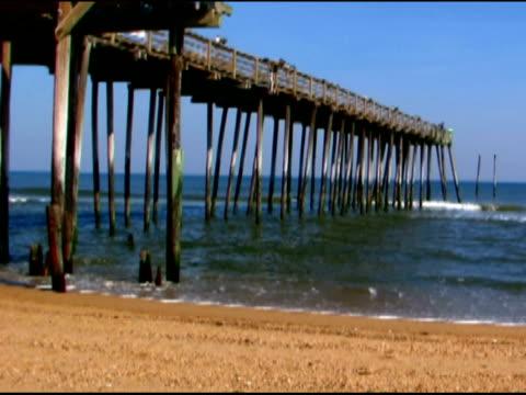 pier pylons NTSC video
