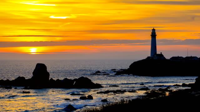 vídeos de stock e filmes b-roll de pigeon point lighthouse, ca - estrada 001