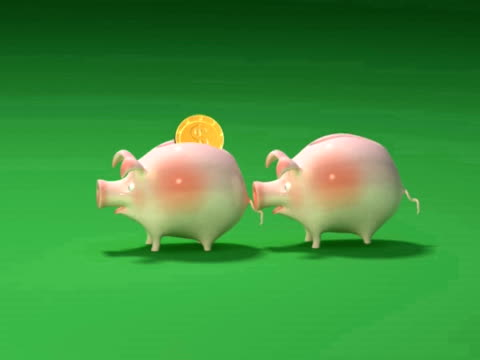 Piggy bank love video