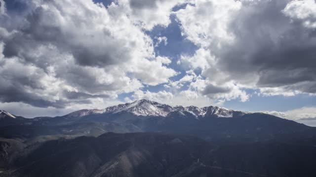 パイクスピークアメリカタイムラプス4k - コロラド州点の映像素材/bロール