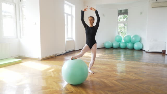 Pilates with grace and elegance. video