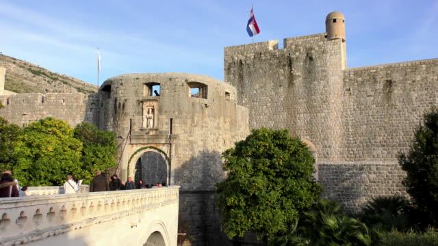 Pile Gate - Dubrovnik, Croatia video