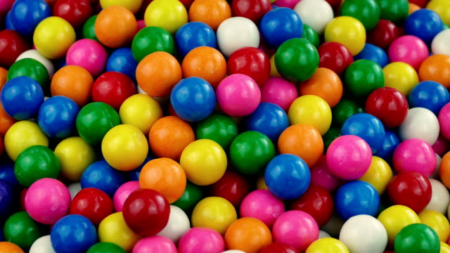 Pile Of Candy Gum Balls video