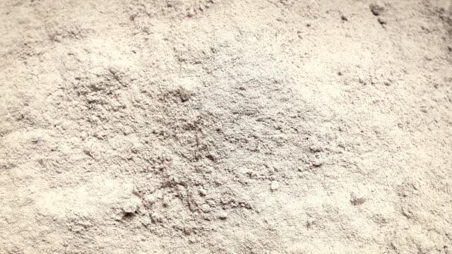 Pile Of White Powder Turning video