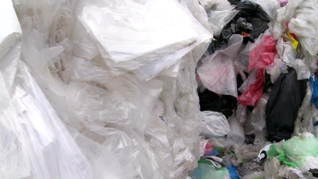 Mehrere Plastikmüll PAN – Video