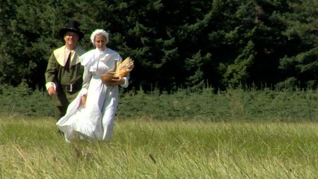 HD Pilgrims Walking video