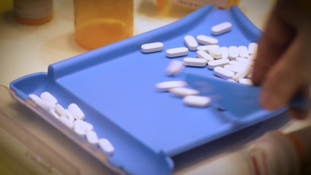 Pill Counting video