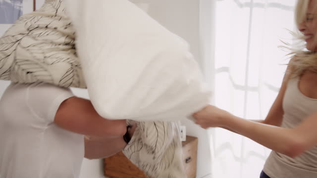 Pillow fight video