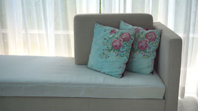 Pillow sofa video