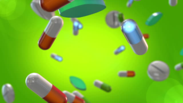 Pills Animation HD video