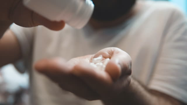 Pills on hand video
