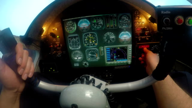 Pilot Having Problem With Aircraft Flight Control System