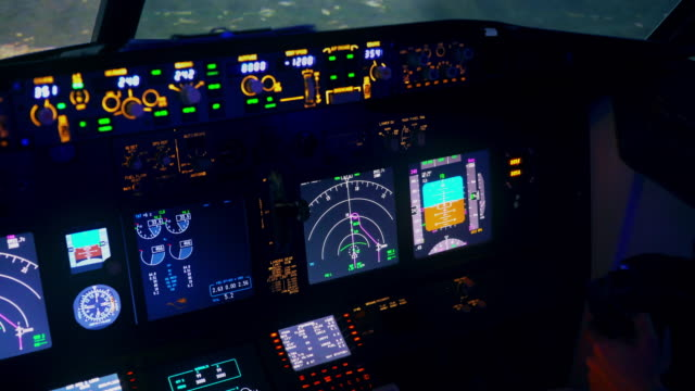 Pilots Flying Cockpit View