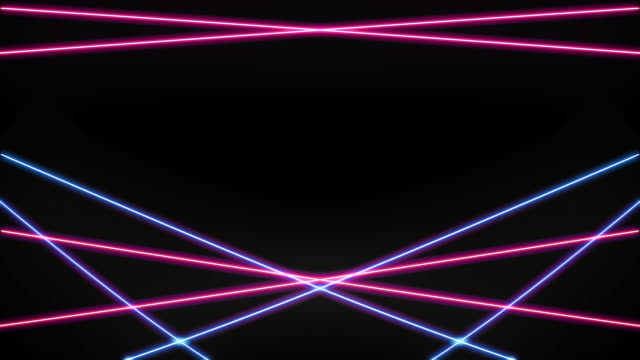 Pink and Blue Laser Loop Isolated  laser stock videos & royalty-free footage
