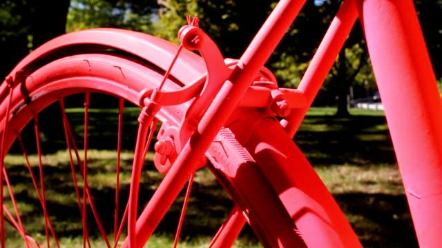 Pink bike. video