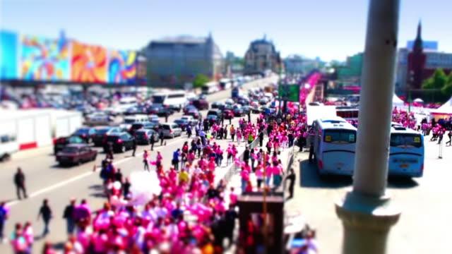 Pink Crowd video