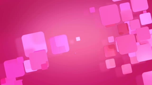 pink rectangular shapes flashing video
