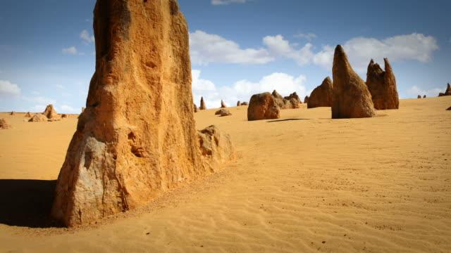 pinnacle dessert sunset, western australia - western australia stock videos & royalty-free footage
