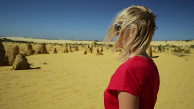 Pinnacles Desert close up walk video