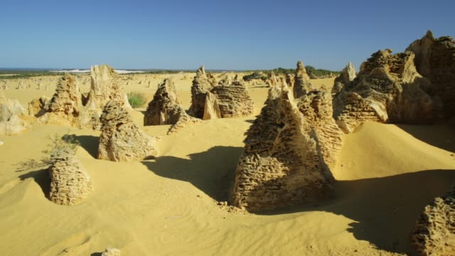 Pinnacles Desert landscape video