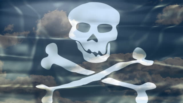 Pirate Sky Flag video