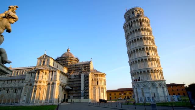 Torre inclinada de Pisa, Italia - vídeo