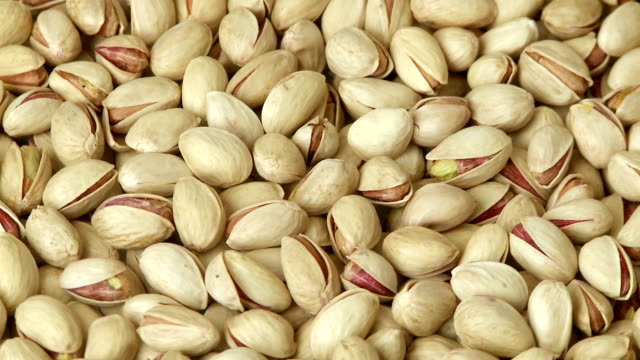 Pistachio nuts background video