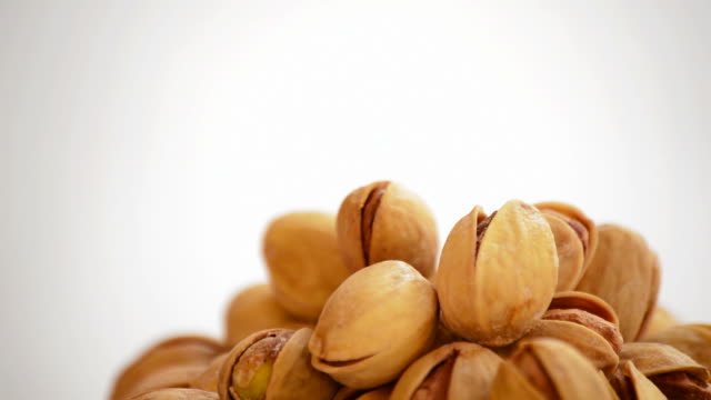 Pistachios, nuts, loop video