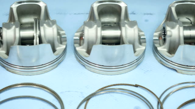 Piston rings and pistons video