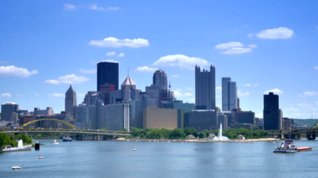 Pittsburgh Establishing Shot video