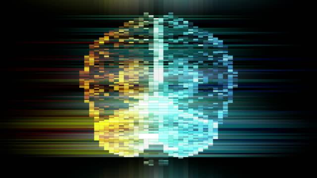 Pixelated Brain - vídeo