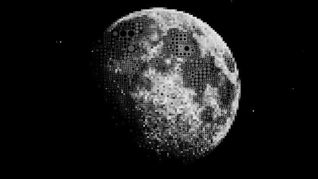 Pixelated Moon - vídeo