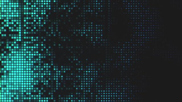 bakgrund för pixelated-teknik - tema bildbanksvideor och videomaterial från bakom kulisserna