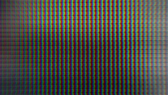 RGB LCD LED pixels video