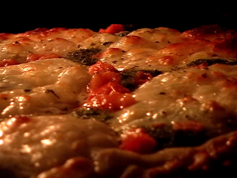 Pizza close-up video