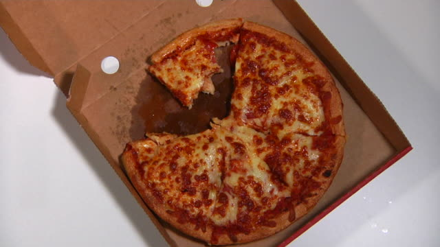 stop motion: pizza - junk food stock videos and b-roll footage