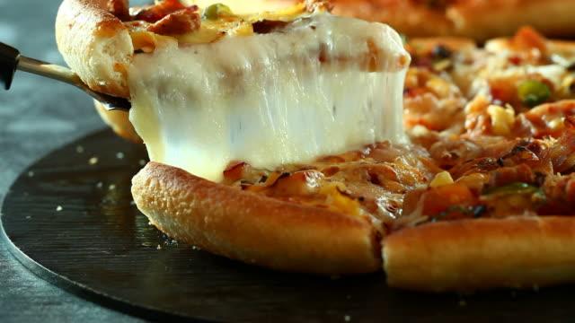pizza - pizza video stock e b–roll