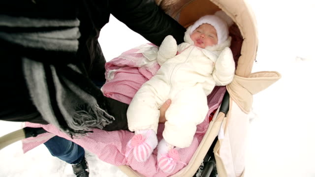 Placed the Baby in the Pram video