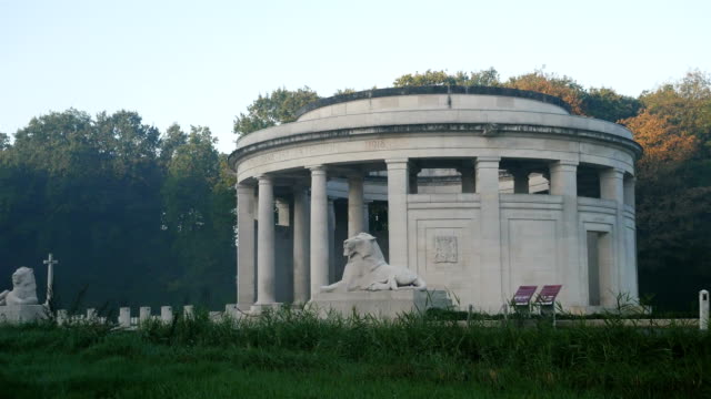 Places of World War One in Belgium: Plugstreet Wood, Memorial to the Missing video