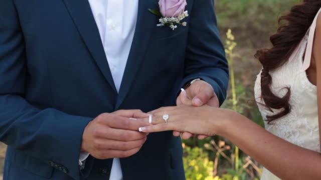 Placing Wedding Ring video