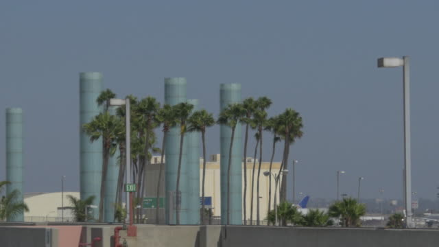 Plane Landing at LAX video