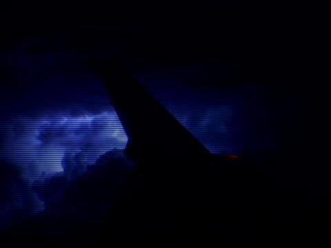 Plane Lightning video