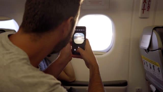 Plane window photos
