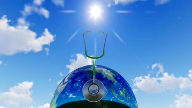 Planet Earth For World Medicine Day World Health Day, Day, Healthcare And Medicine, Medicine, Healthy Lifestyle world health day stock videos & royalty-free footage