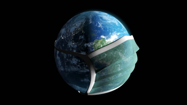 Planet Earth in the Mask