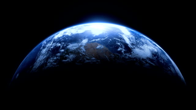Planet Earth Realistic Fit Width Loop video