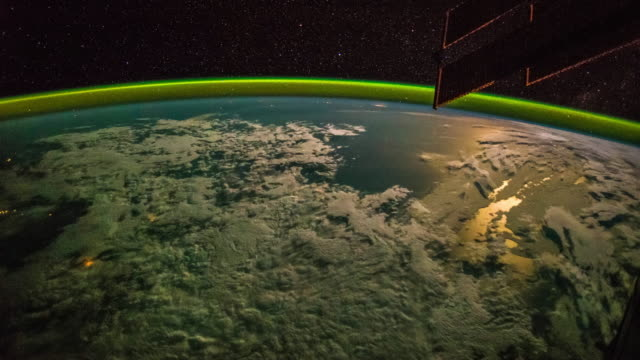 Planet Earth Seen From Space Real Video No Cgi Taken From