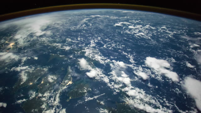 Planet Earth seen from space. Real video. No CGI. Taken from International Space Station