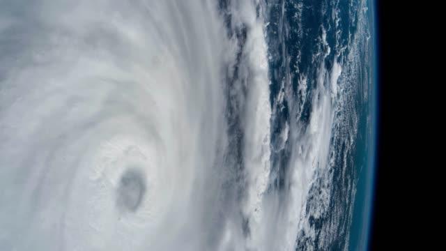 Planet Erde von der ISS aus gesehen. Schöner Planet Erde aus dem All beobachtet. Nasa Zeitraffer schießen Erde aus dem Weltraum. Elemente dieses von der NASA zur Verfügung gestellten Videos. – Video