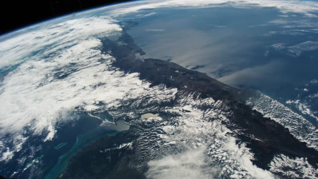 planet earth seen from the iss. beautiful planet earth observed from space. nasa time lapse shooting earth from space. elements of this video furnished by nasa. - earth day stock videos & royalty-free footage